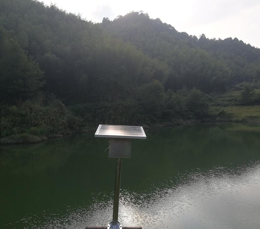研发的新产品-无线水位检测装置已试点成功